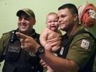 Bebê de nove meses é salvo por policiais militares em Belém