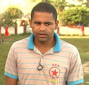 Nei Gaúcho, técnico do Rio Branco sub-20 (Foto: Reprodução/TV Acre)