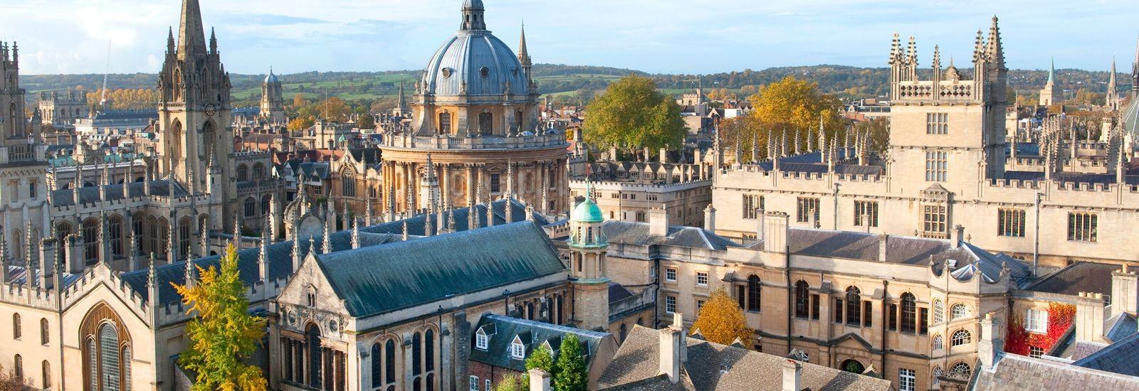 Universidade de Oxford, no Reino Unido (Foto: Divulgação/Universidade de Oxford)