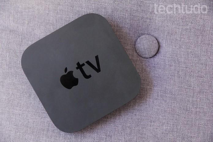 Apple TV se dá muito bem com outros aparelhos da Apple em uma mesma rede (Foto: Luciana Maline/TechTudo)