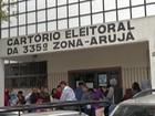 Público lota o cartório de Arujá no fim do prazo para serviços eleitorais