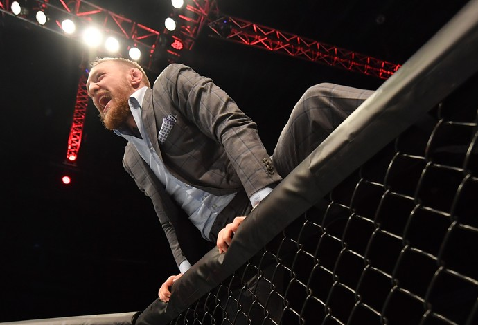 Conor McGregor, octógono, UFC Belfast, MMA (Foto: Getty Images)