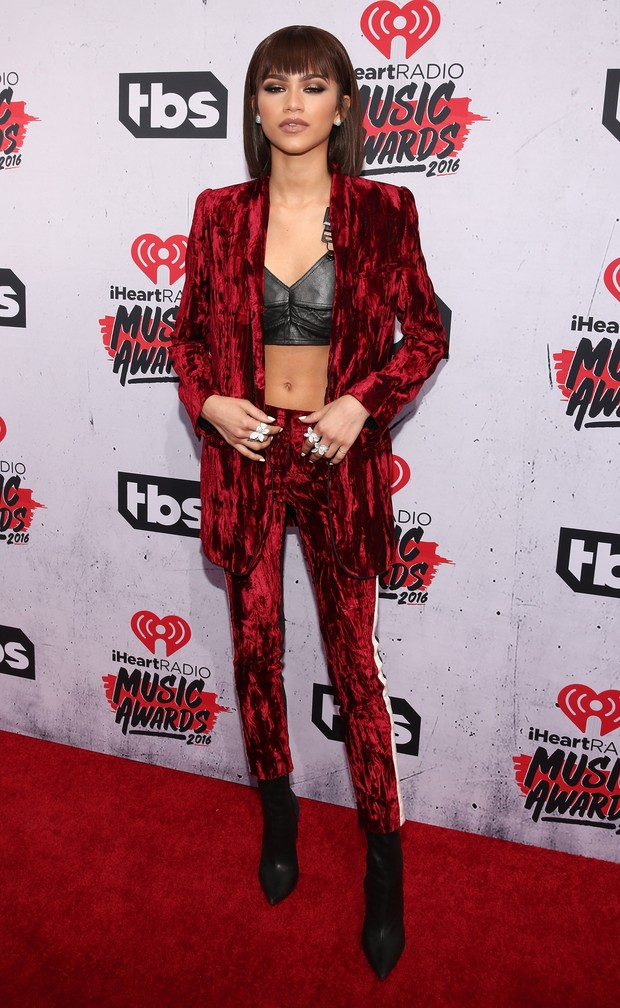 Zendaya no iHeartRadio Music Awards (Foto: Getty Images)