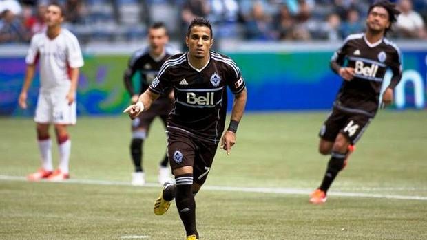 Camilo Sanvezzo Vancouver Whitecaps MLS (Foto: Divulgação/Vancouver Whitecaps)