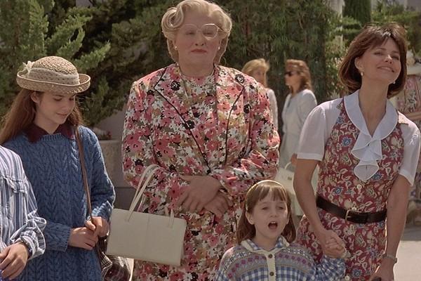 Cena de 'Uma Babá Quase Perfeita' (1993) (Foto: Reprodução)