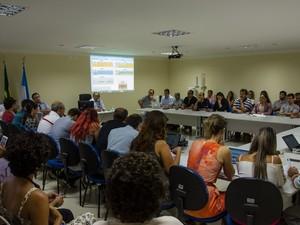 Conselho delibera calendário acadêmico na Ufersa (Foto: Eduardo Mendonça/Ufersa)