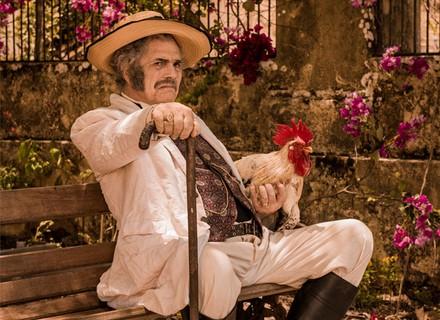 Coronel Jacinto, interpretado por Tarcísio Meira, morre no primeiro capítulo de 'Velho Chico'