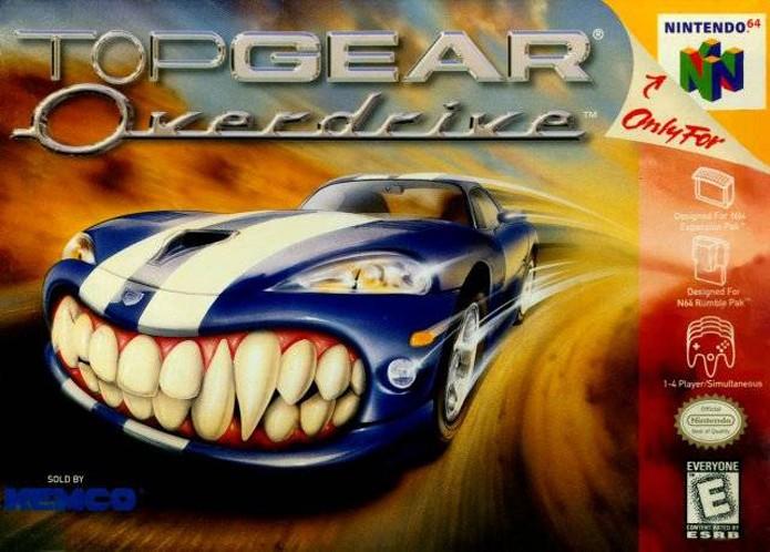 Top Gear Overdrive deu continuidade à franquia de corrida da Kemco (Foto: Reprodução/GamesDBase)