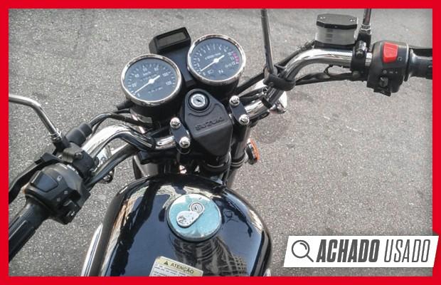 Achado Usado: Suzuki Intruder (Foto: Autoesporte)