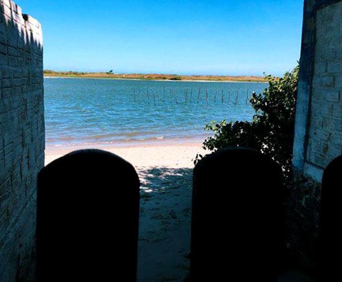 Atriz fotografa paisagem dos mares de Alagoas  (Foto: Reprodução / Instagram)