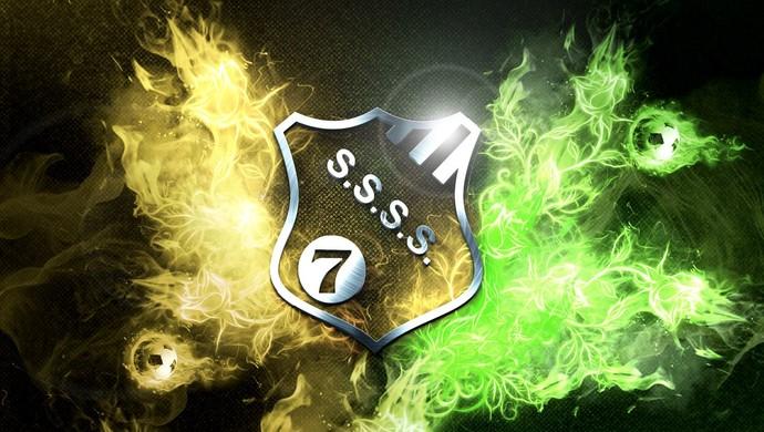 Escudo do Sete de Setembro, pelo designer Tom Carvalho (Foto: Tom Carvalho/Arquivo Pessoal)