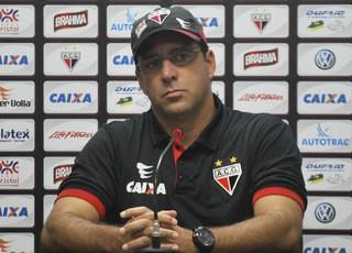 Marcelo Martelotte, técnico do Atlético-GO (Foto: Guilherme Salgado/Atlético-GO)