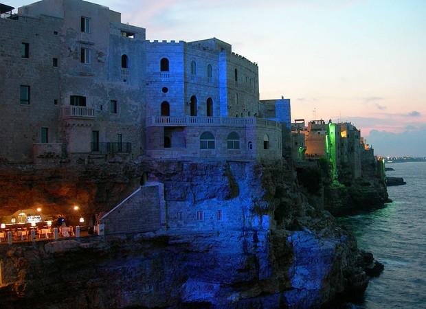 caverna-italiana-restaurante-grotta-palazzese (Foto: Divulgação)