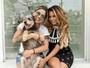Lexa se une a Vanessa Mesquita para ajudar animais abandonados: 'Feliz'