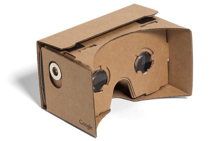 b2af0647d Google Cardboard é opção barata do Google para iOS e Android (Foto:  Divulgação/