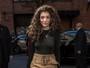 Lorde maquia só metade do rosto e vai a desfile de Kanye West em NY
