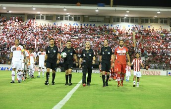 Imagens: veja fotos da vitória do CRB sobre o Joinville, no Estádio Rei Pelé