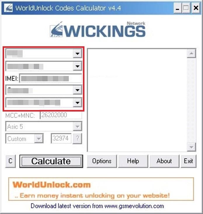 Insira as informações solicitadas para conseguir o código de desbloqueio (Foto: Reprodução/Lívia Dâmaso)