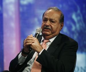 O bilionário mexicano Carlos Slim (Foto: Allison Joyce/Reuters)