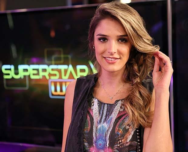 Rafa Brites aposta em look boho no SuperStar Web (Foto: Isabella Pinheiro/Gshow)