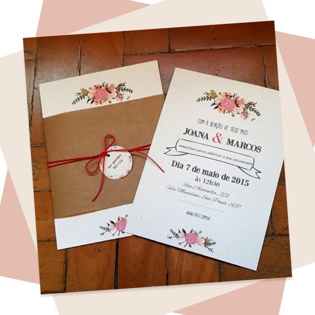 Convite de casamento: 10 ideias para todos os tipos de casais (Foto: Reprodução)