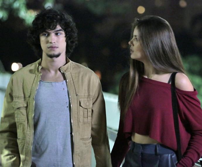 Será que Guilherme vai dizer sim? (Foto: Felipe Monteiro/ Gshow)