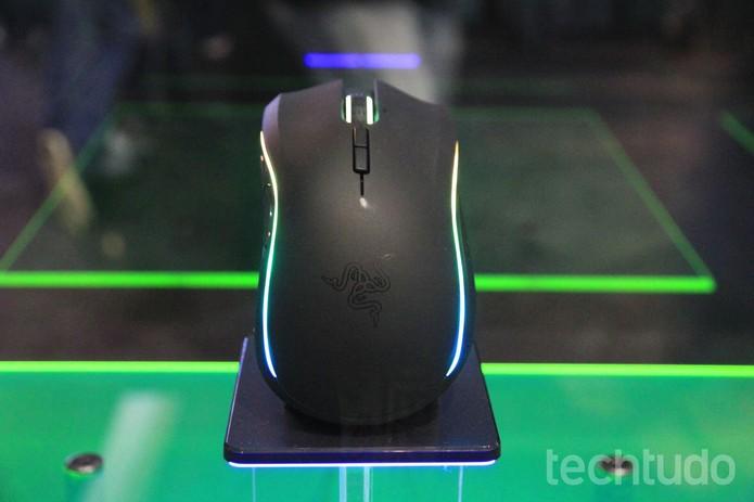 Mouse Razer (Foto: Viviane Werneck/TechTudo)