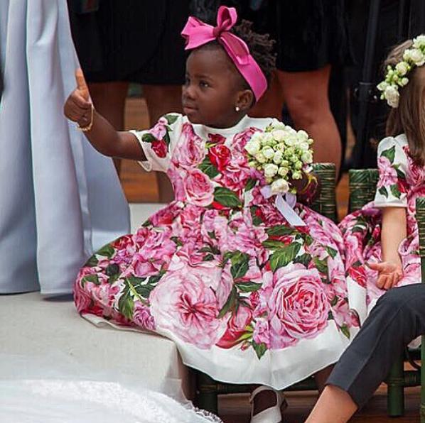 Titi no casamento de Marina Ruy Barbosa (Foto: Reprodução/Instagram)