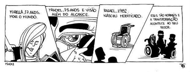 Super Normais fizeram uma tira exclusiva para o G1 (Foto: Divulgação/ Super Normais)