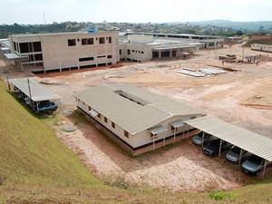 Hospital Regional Divino Espírito Santo em Divinópolis MG (Foto: Patrícia Rodrigues/PMD)