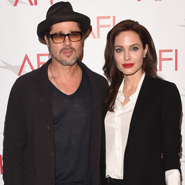 Brad Pitt contrata profissional pra ajudar Angelina Jolie a ganhar peso