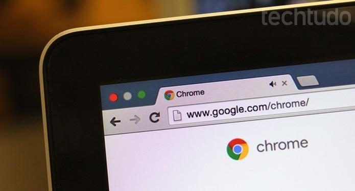 google chrome (Foto: Melissa Cruz/TechTudo)