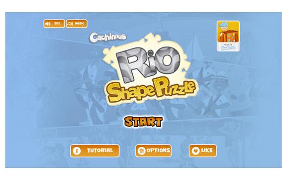 screenshot de Rio Shape Puzzle