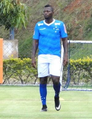 Riascos, atacante do Cruzeiro (Foto: Marco Antonio Astoni)