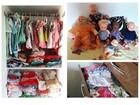 Idosa de Porto Ferreira, SP, cuida de bonecos como se fossem filhos