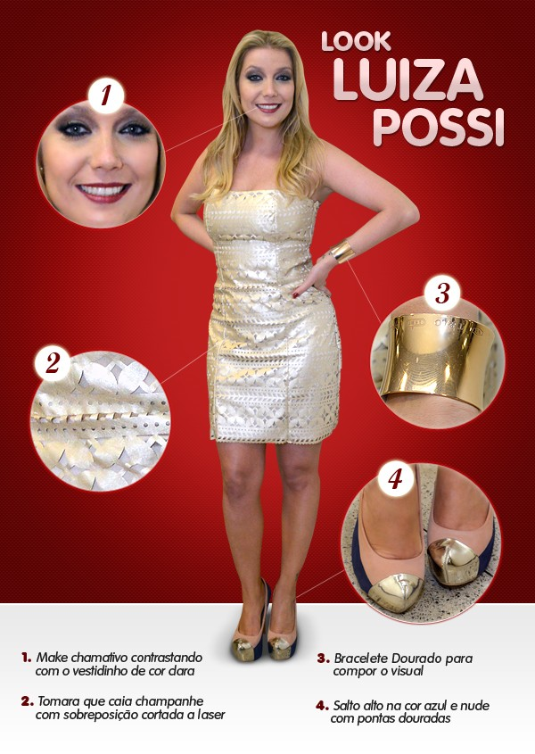 Look Luiza Possi (Foto: The Voice Brasil/TV Globo)