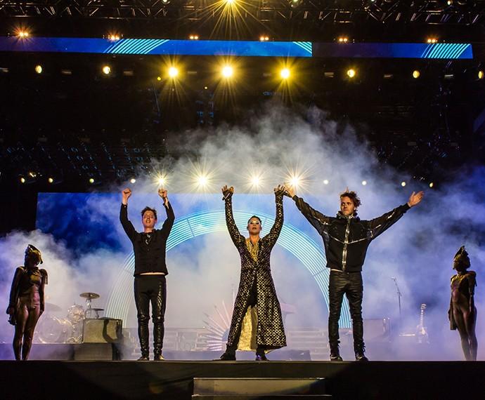Empire State of the sun foi uma das atrações do último dia do Rock in Rio Las Vegas (Foto: Divulgação)