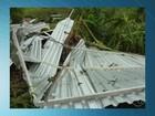 Chuva e ventania destroem plantações no interior do ES
