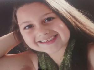 Ludmila, de 5 anos, morreu na UPA de Teresópolis (Foto: Claucio Mizael/Rádio Teresópolis)