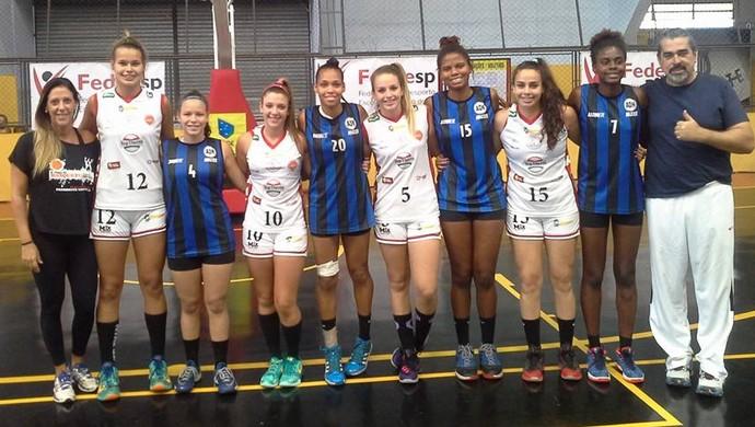 Quarteto do Venceslau sub-17 no Brasileiro Escolar 3x3 (Foto: CBDE / Divulgação)