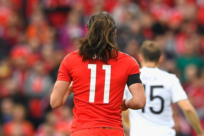 Gareth Bale País de Gales Geórgia (Foto: Getty Images)
