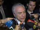 Dilma e Temer se encontram e dizem que não há rompimento