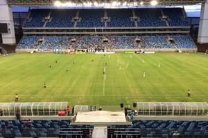Operário VG x Mixto, Arena Pantanal (Foto: Lucas de Senna)