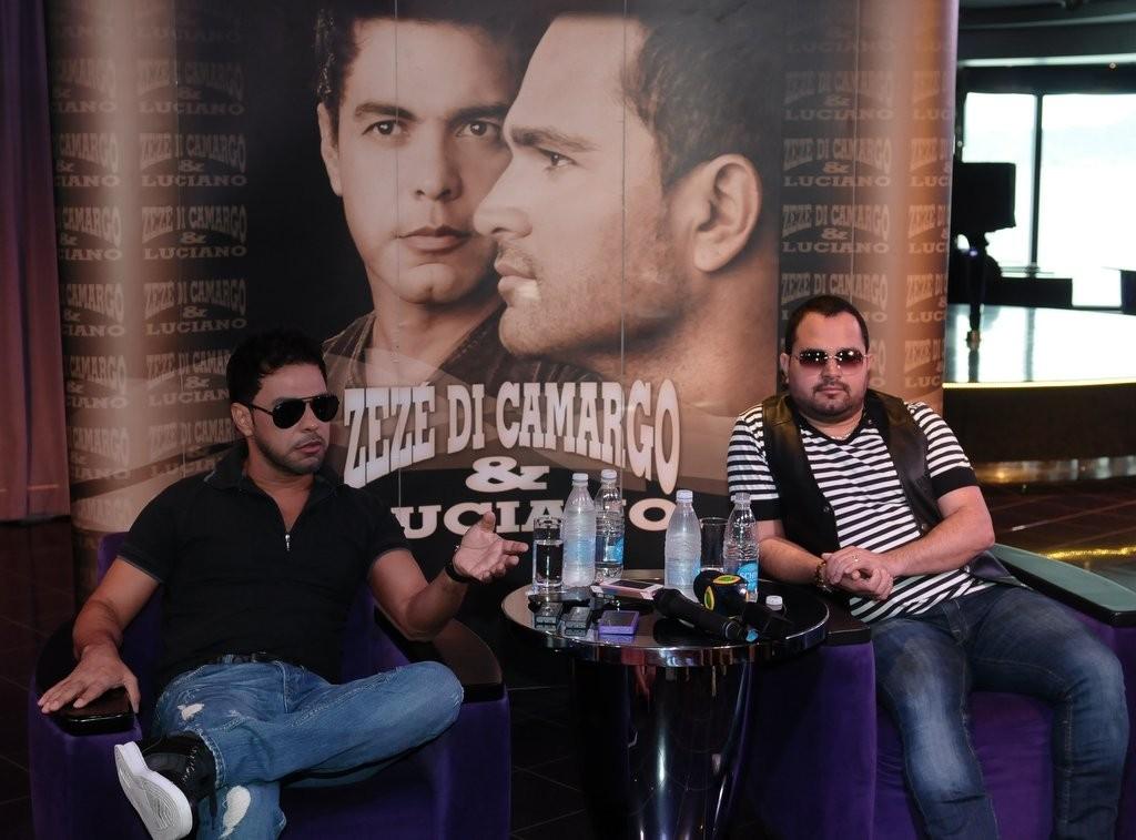 """Zez� di Camargo fala sobre rela��o com a ex, Zilu: """"Est� �tima ..."""