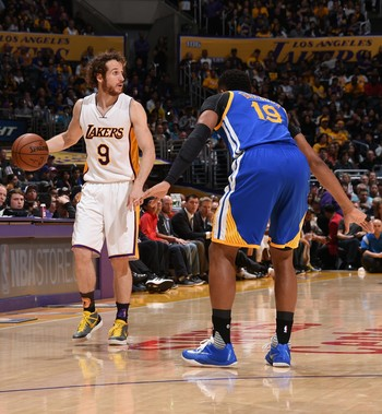 Los Angeles Lakers x Golden State Warriors, NBA, Marcelinho Huertas (Foto: Getty Images)