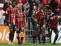 Balotelli marca, Nice bate Guingamp e assume  provisoriamente a liderança