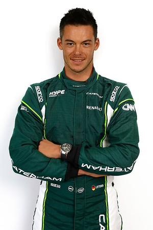 André Lotterer, piloto da Caterham no GP da Bélgica (Foto: Divulgação)