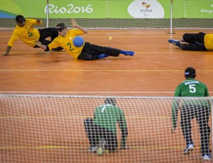Arena do Futuro goalball demonstração (Foto:  Marcio Rodrigues/MPIX/CPB)