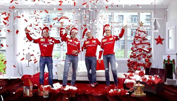 BLOG: Um feliz Natal de Vettel e da Ferrari