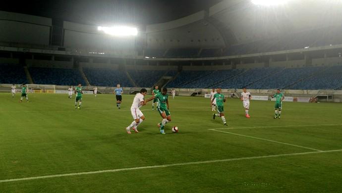 Alecrim x Assu, na Arena das Dunas - Campeonato Potiguar (Foto: Luiz Henrique/GloboEsporte.com)